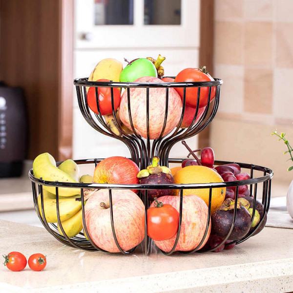 2 Layer Fruit Rack