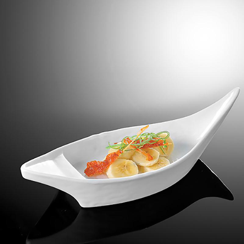 Boat Shaped Fish Plate
